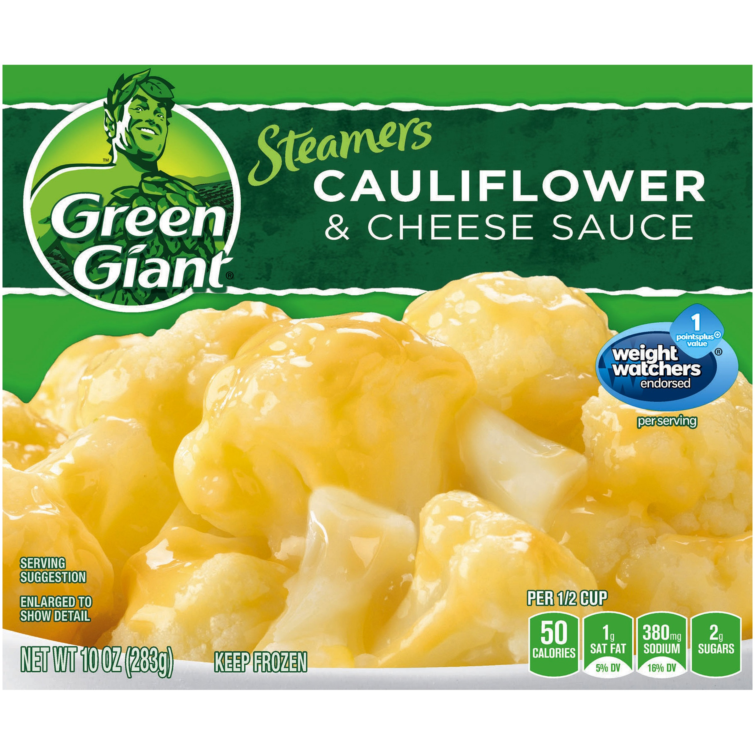 Green Giant�� Steamers Cauliflower & Cheese Sauce 10 oz. Box