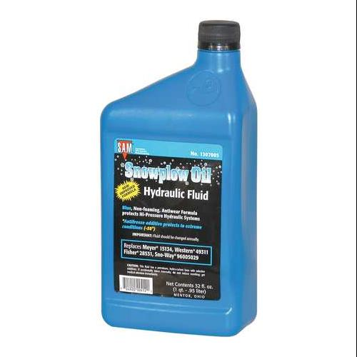 SNOWPLOW AFTERMARKET MANUFACTURING 1307005 HYDRAULIC FLUID