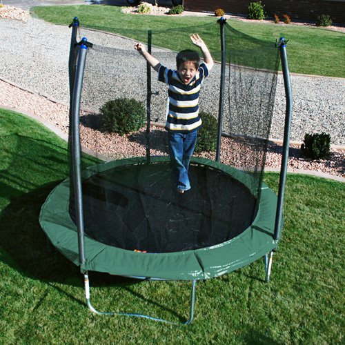 Skywalker 8-ft. Round Trampoline with Enclosure