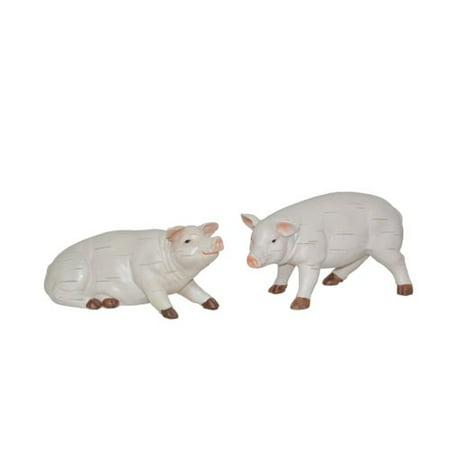 Pig Crafts (Fantastic Craft 2 Piece 10'' Pig Figurine)