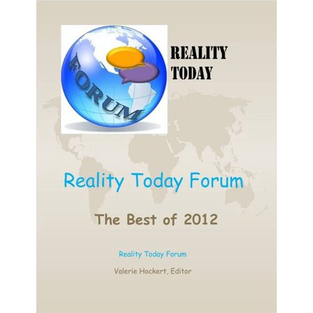 Reality Today Forum: The Best of 2012 - eBook