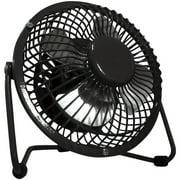 Optimus 4 inch Personal Fan, Black