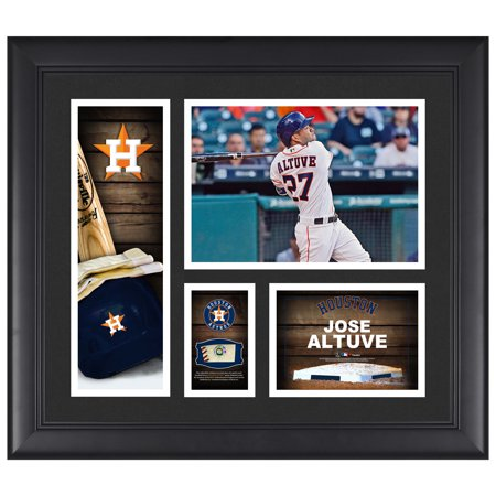 Jose Altuve Houston Astros Fanatics Authentic Framed 15