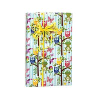 Woodland Fun Owl Birthday / Special Occasion Gift Wrap Wrapping Paper-16ft