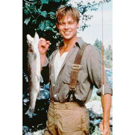 Brad Pitt in A River Runs Through It 24x36 Poster