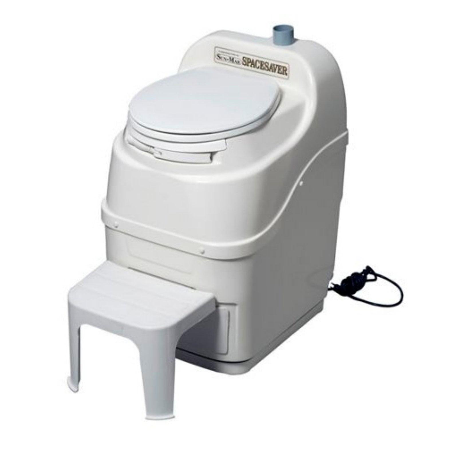 Sun-Mar SpaceSaver Electric Waterless Composting Toilet