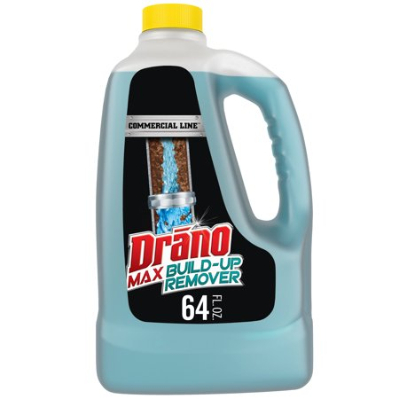 Drano Max Build-Up Remover, Commercial Line, 64 fl -