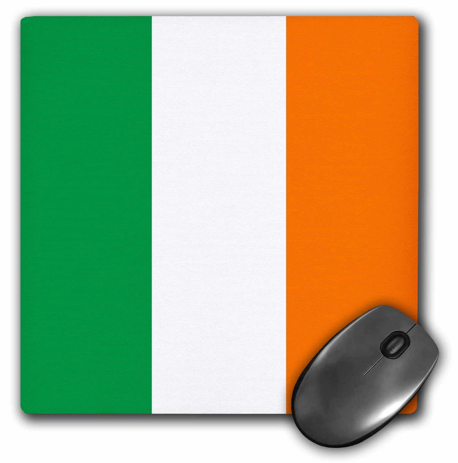 Irish Green White Orange Vertical