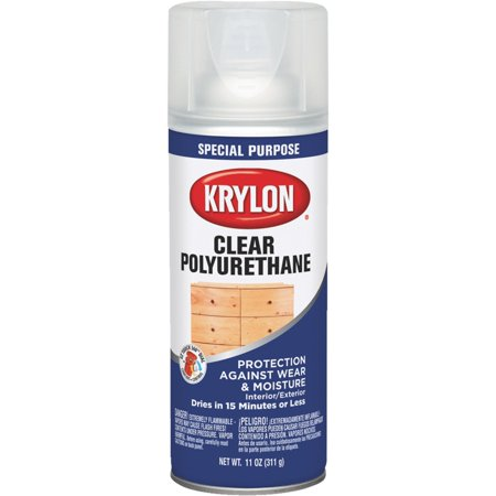 krylon spray polyurethane. Black Bedroom Furniture Sets. Home Design Ideas