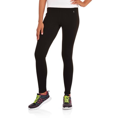 Danskin Now Womens Performance Compression Leggings With Mesh Insets