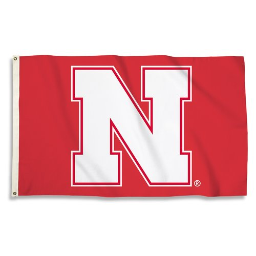 Nebraska Cornhuskers 3' x 5' Flag
