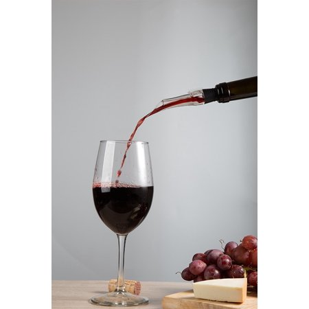 Kitchen Winners Premium Wine Aerating Pourer and Decanter Spout,