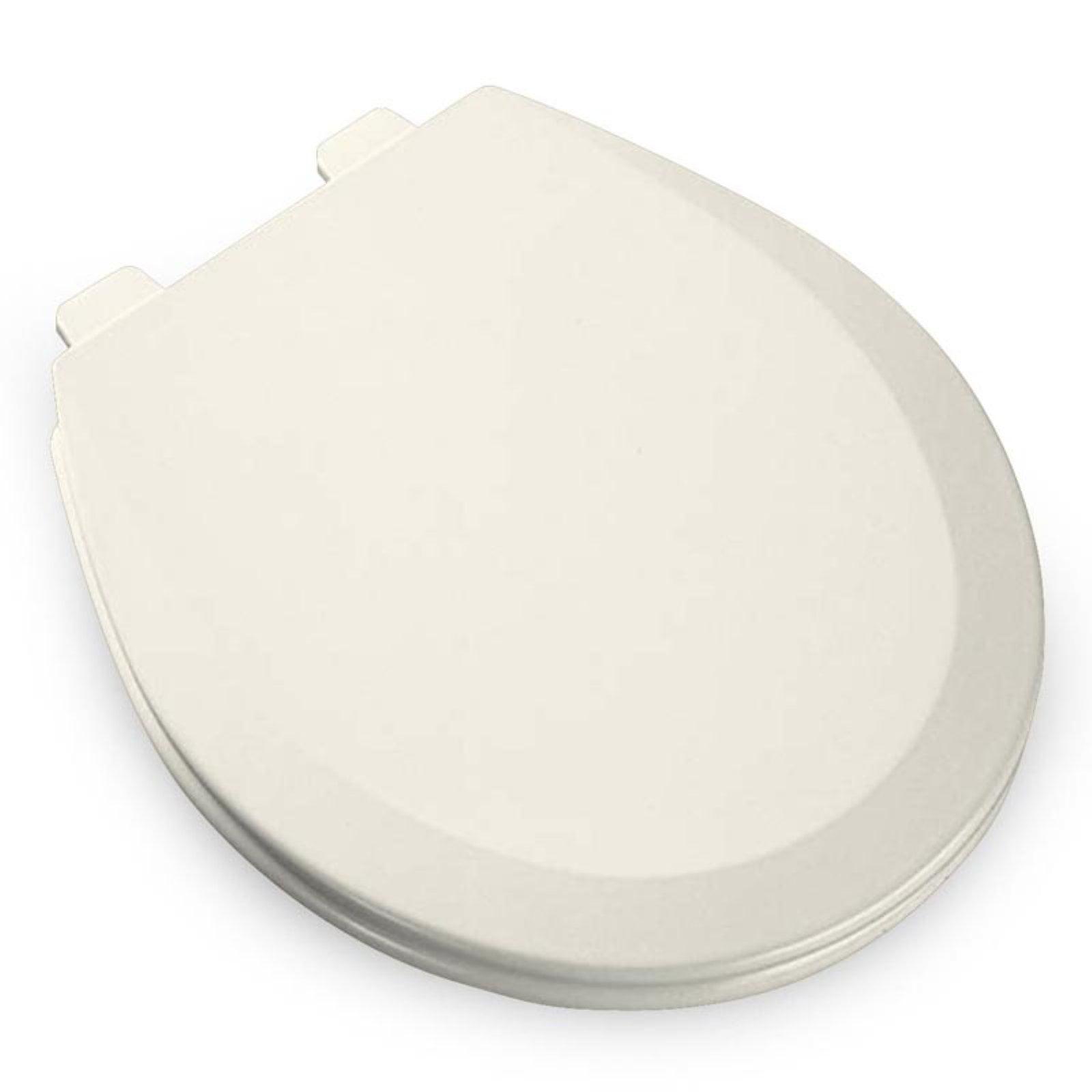 bemis white toilet seat. Bemis 500EC Lift Off Wood Round Toilet Seat  Available In Various Colors BEMIS Closed Front 18 7 8 In 1500EC 000 Walmart Com