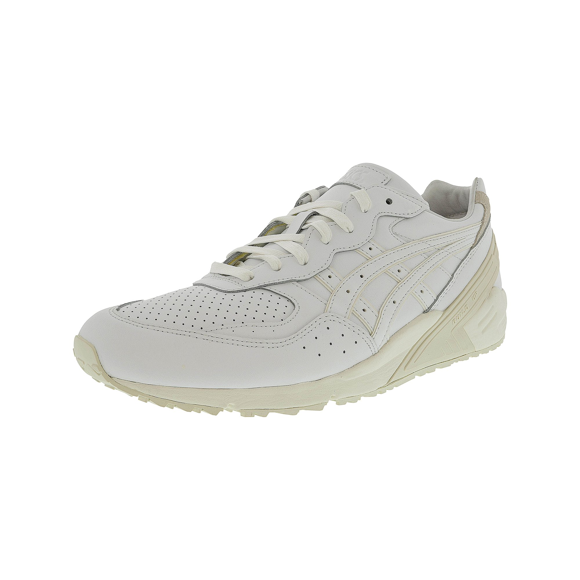 new style d4d3c b0672 Asics Gel-Sight White / Ankle-High Leather Tennis Shoe ...