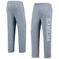 North Carolina Tar Heels Concepts Sport Marble Sweater Knit Tri-Blend Pants - Navy