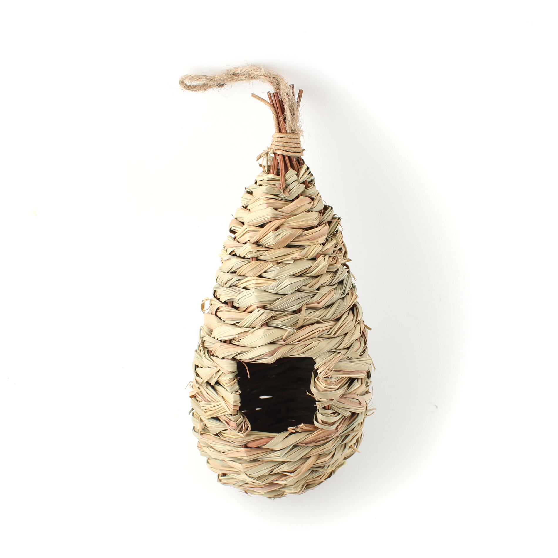 Natural Grass Woven Hanging Birdhouse Nest by Unbranded