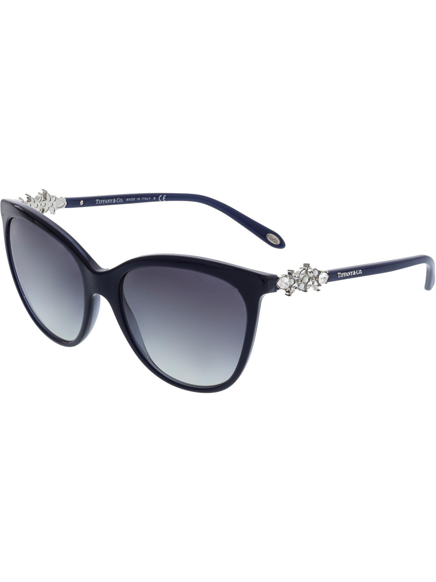 Tiffany & Co Women's Gradient TF4131HB-81913C-56 Blue Rectangle Sunglasses