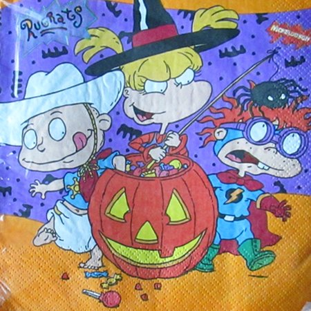 Rugrats Halloween Lunch Napkins (16ct)](Halloween Lunches For Kids)
