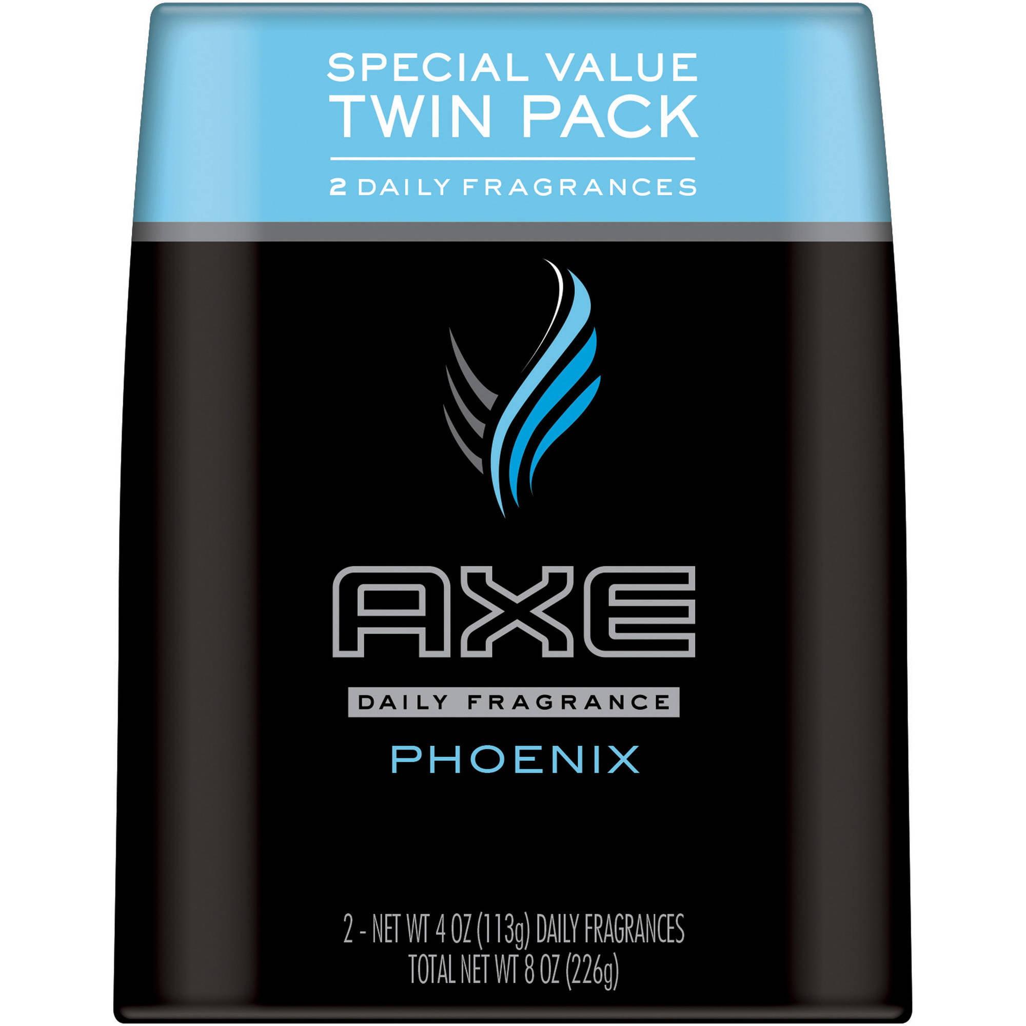 AXE Phoenix Body Spray for Men, 4 oz, Twin Pack