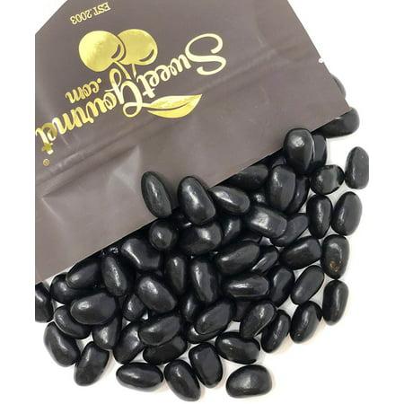 Ferrara Candy Black Jelly Beans Eggs - Licorice Flavor jelly candy 2 pounds (Black Jelly Beans)