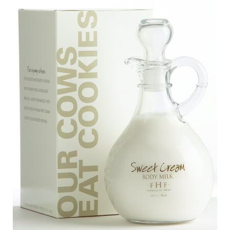 FarmHouse Fresh Sweet Cream Body Milk - Cruet with Handle (10 Oz)