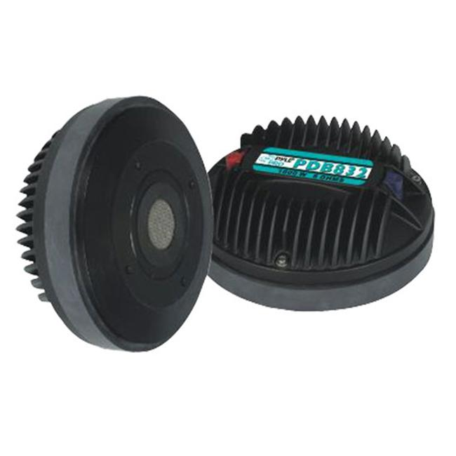 SOUND AROUND/PYLE INDUSTRIES PDB832 Midrange/ Tweeter Compression Horn Driver with 90 oz. Magnet