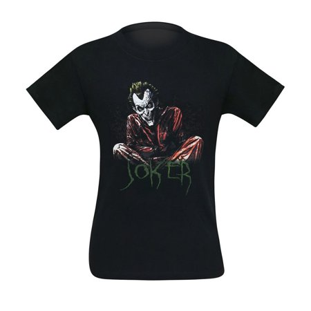 Joker Straight Jacket T-Shirt-Men's Small