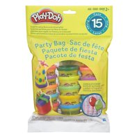Play-Doh Party Bag Includes 15 Colorful Cans of Play-Doh, 1 Ounce Cans
