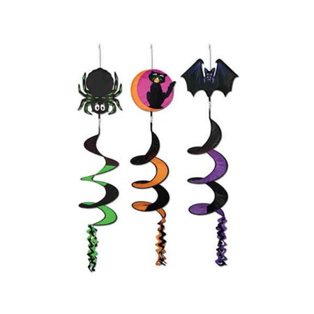 Classic Halloween Icon Wind-Spinners- Pack of 12