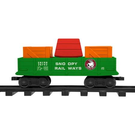 Lionel's Snoopy Railway Gondola