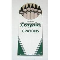 Crayola Regular Crayon Single Color Refill 2, Gray Multi Colored