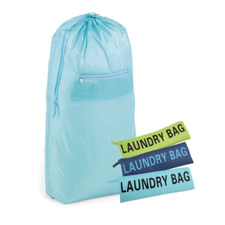 Homz Compact Laundry Bag, 2 Load Capacity, Assorted Colors, Set of - Compact Laundry Stacking
