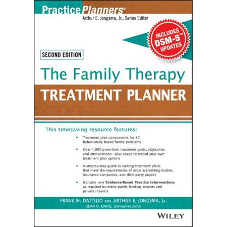 The Family Therapy Treatment Planner, with Dsm-5 Updates, 2nd Edition ()