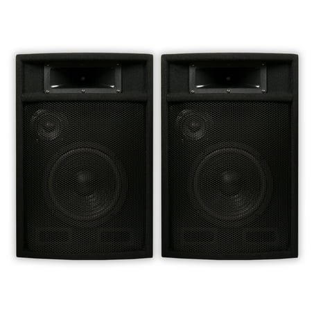 Acoustic Audio PA-380X Passive 1200 Watt 3-Way Speaker Pair DJ PA Karaoke Studio Speakers Apple Studio Speakers