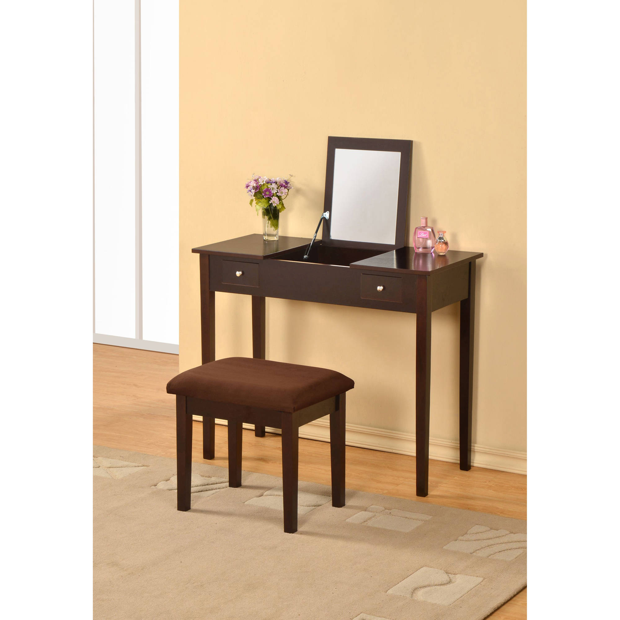 William's Home Furnishing Bodai Vanity, Multiple Colors