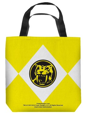 Mighty Morphin Power Rangers TV Series Yellow Ranger Tote Bag