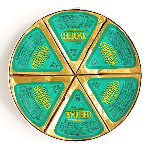 Lactoprot Cheddar Cheese Wheel 4 oz each (3 Items Per Order) by
