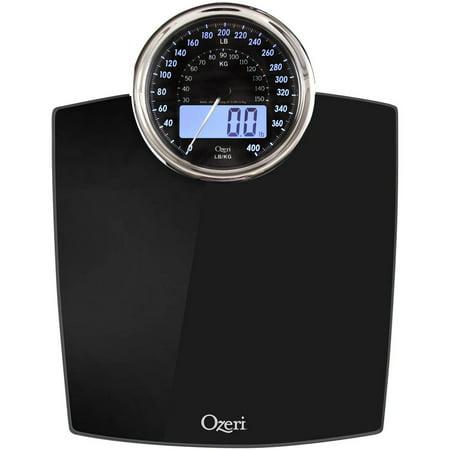 Ozeri Rev Digital Bathroom Scale with Electro-Mechanical ...