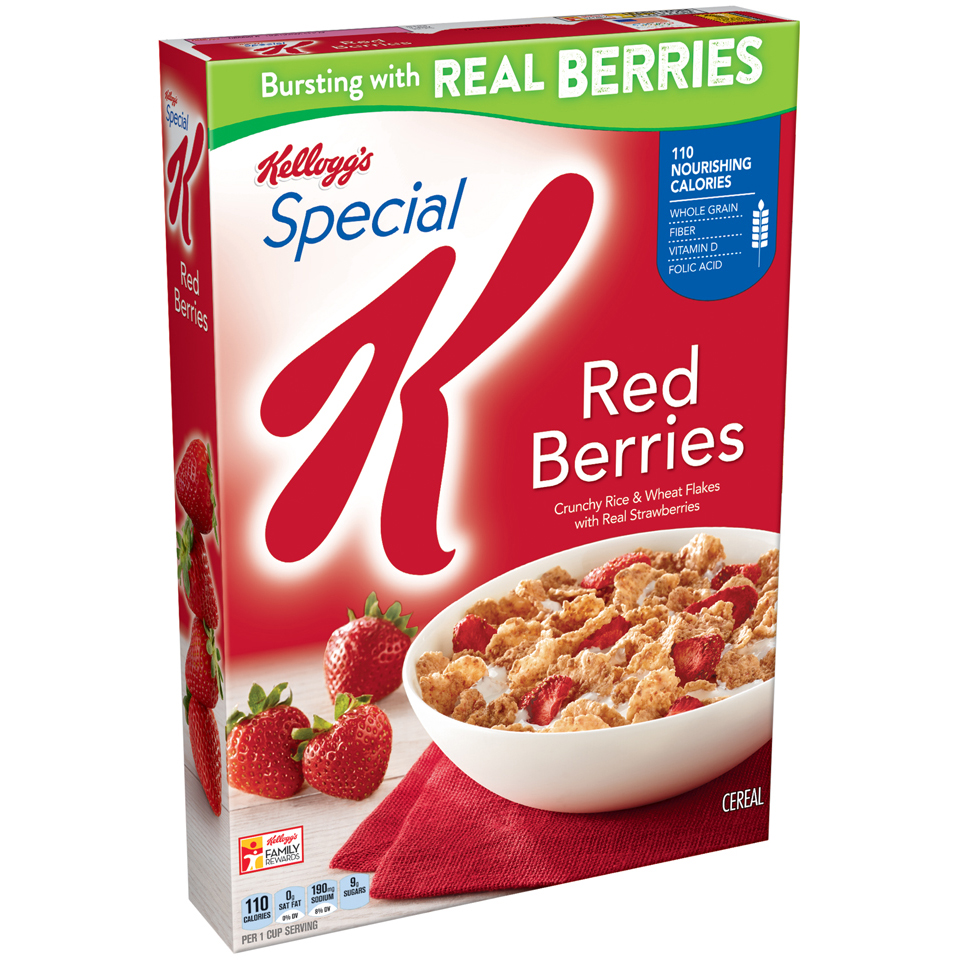 Kellogg S Special K Red Berries Cereal 11 2 Ounce Box