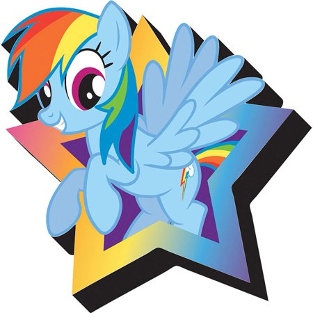 My Little Pony Rainbow Dash Funky Magnet,  Toys by NMR Calendars