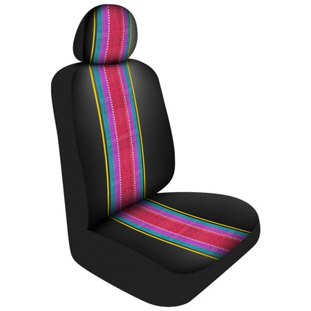 Awe Inspiring Front Seat Cover Cool Black Universal Saddle Print Automotive Seat Covers Pair Sold By Case Pack Of 2 Beatyapartments Chair Design Images Beatyapartmentscom
