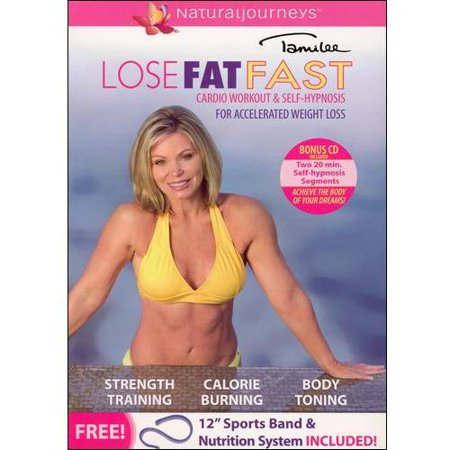 Tamilee Webb: Lose Fat Fast - Cardio Workout & Self-Hypnosis For  Accelerated Weight Loss (DVD + CD)