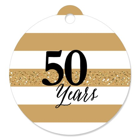 We Still Do - 50th Wedding Anniversary - Party Favor Tags (Set of 20) ()