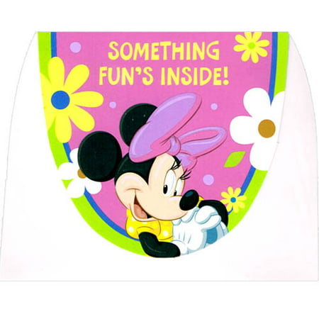 Minnie Mouse 'Brite Fun' Invitations w/ Envelopes (8ct) - Fun Halloween Invitations
