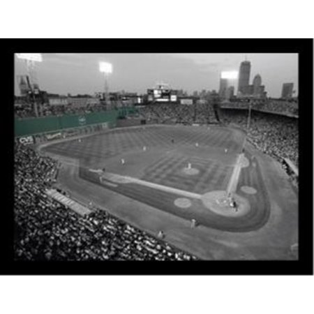 buyartforless Fenway Park Green Monster Wall Art