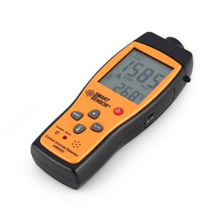 (Smart Sensor CO2 Carbon Dioxide Air Quality Monitor Temperature Gas Detector)