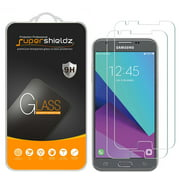 [2-Pack] Supershieldz for Samsung Galaxy J3 Luna Pro Tempered Glass Screen Protector, Anti-Scratch, Anti-Fingerprint, Bubble Free
