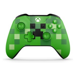 Microsoft Xbox One Wireless Controller, Minecraft Creeper