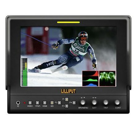 "7"" Camera-top Monitor663/O/P2 (With Waveform)"