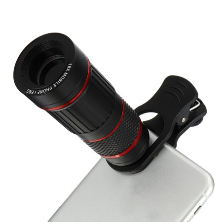 Cellphone Camera Lens Universal High Definition 8/18X Optical Zoom Focus Mobile Phone Lens Clip-on Telescope for